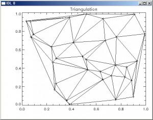 Triangulate 결과