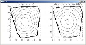 Linear Interpolation vs Quintic