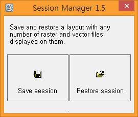 ENVI Session Manager 실행