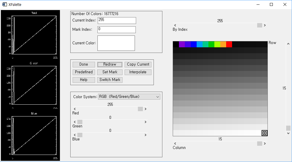 xloadct, 23, ncolors=10